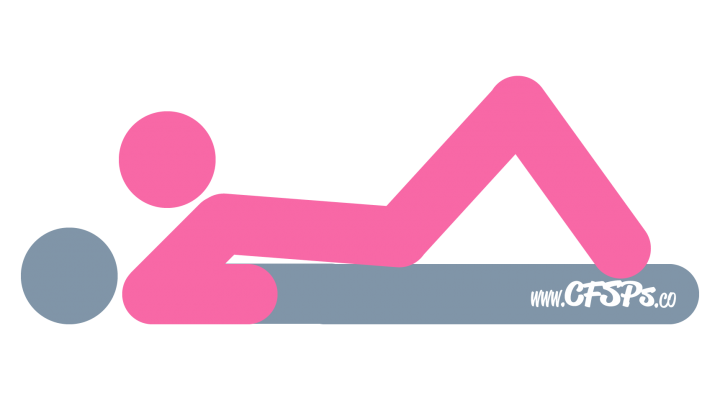 An illustration of the Double Decker sex position. This picture demonstrates how Double Decker is a woman-on-top, rear-entry sex position where the man is in control of sex.