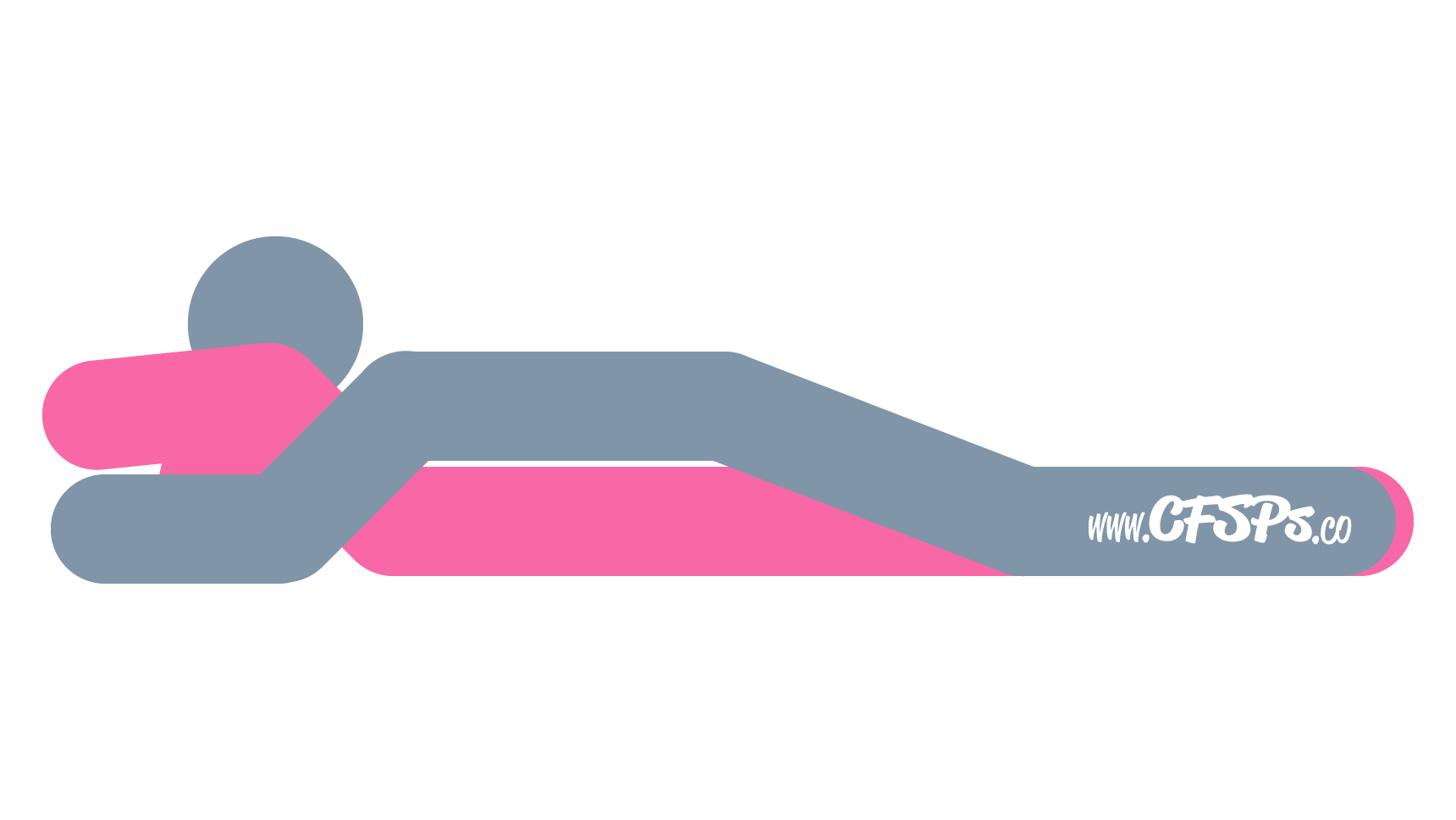 An illustration of the Nirvana sex position. This picture demonstrates how Nirvana is a man-on-top sex position with great clitoral stimulation and deep penetration.