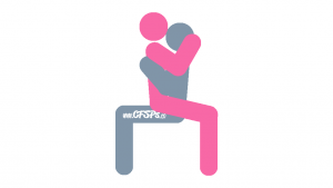 Amazon: Wife-On-Top, Seated Sex Position Illustration