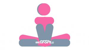 Lotus Blossom: Seated, Intimate Sex Position Illustration