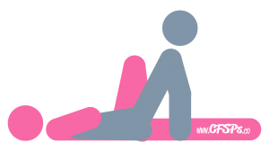 Star: Man-On-Top Sex Position Illustration