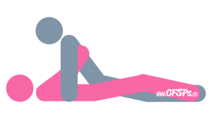 Super 8: Man-On-Top Sex Position Illustration