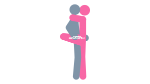 Dancer: Intimate, Standing Sex Position Illustration