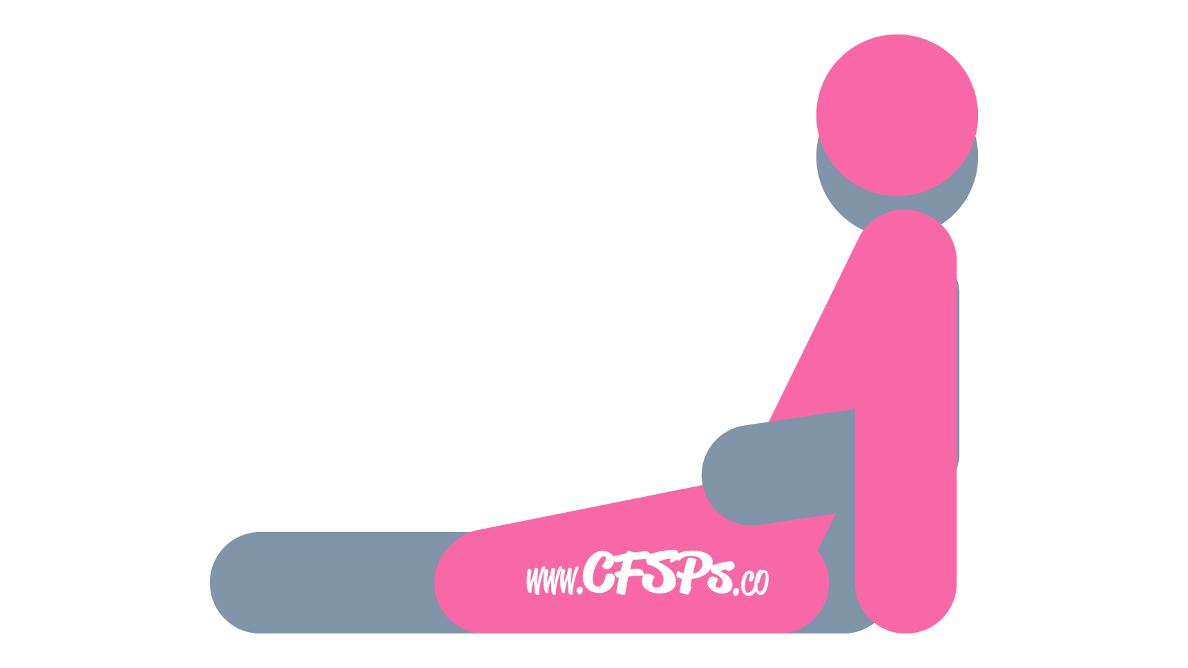 Bouncing Spoon: Seated, Woman-On-Top, Rear-Entry Sex Position Illustration