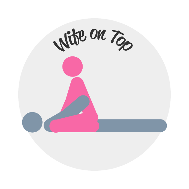 Woman-On-Top Sex Position Illustrations
