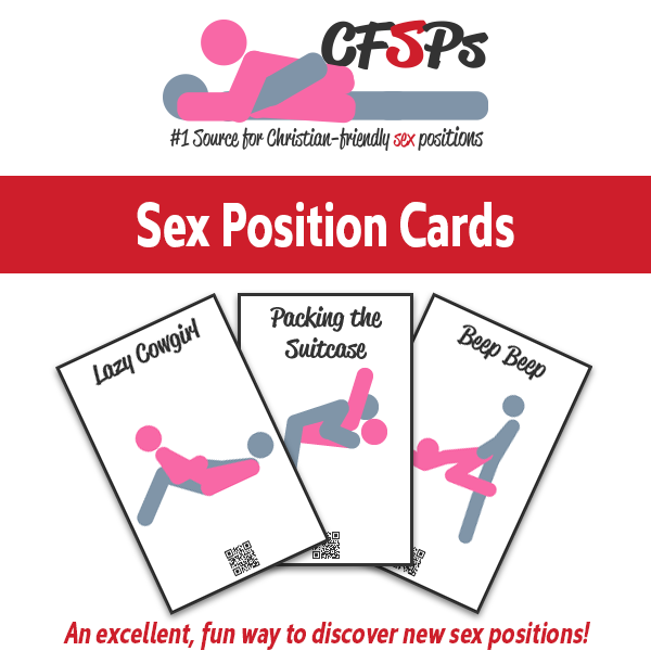 CFSPs' Sex Position Cards Printable PDF
